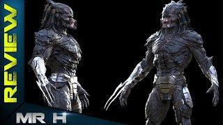 Upgrade Predator Concept Art Shows Some Yautja Variations - The Predator