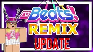 Robeats REMIX UPDATE?! | What is it? What got changed? | ROBLOX