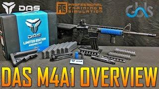 $2500 GBLS DAS M4A1 AIRSOFT GUN OVERVIEW LOOK | SPARTAN117GW