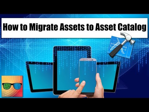 How to Migrate Assets to Asset Catalog in xCode?