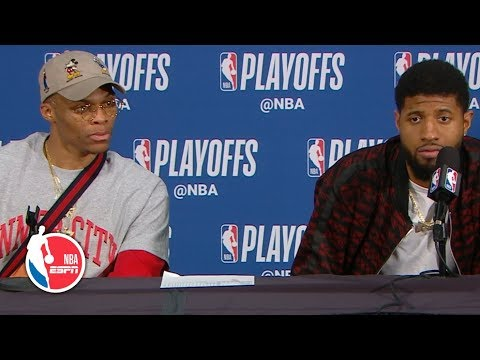 Paul George calls Damian Lillard's game-winner a 'bad shot'  | 2019 NBA Playoffs