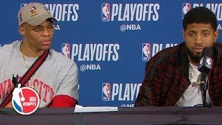 Paul George calls Damian Lillard's game-winner a 'bad shot'  | 2019 NBA Playoffs