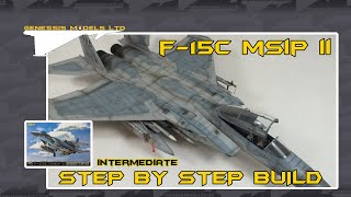 Great Wall Hobbys : F-15C Eagle MSIP II : 1/48 Scale Model : Step By Step Video Build : Episode.1