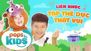 Mầm Chồi Lá - Liên Khúc Tập Thể Dục Thật Vui - Nhạc Thiếu Nhi Sôi Động | Vietnamese Kids Song