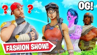 OG SKIN Fortnite Fashion show! (Winner = Vbucks)