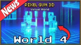 New Campaign World 4 coming soon! - Pixel Gun 3D NEWS