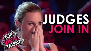 """Top 3 """"When Judges Help The Contestant"""" on Got Talent World!"""