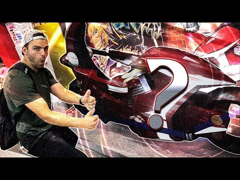 THE MOST MASSIVE KONAMI CARD SHOP in OSAKA JAPAN!!? ..REAL LIFE YuGiOh 5Ds MOTORCYCLE!!