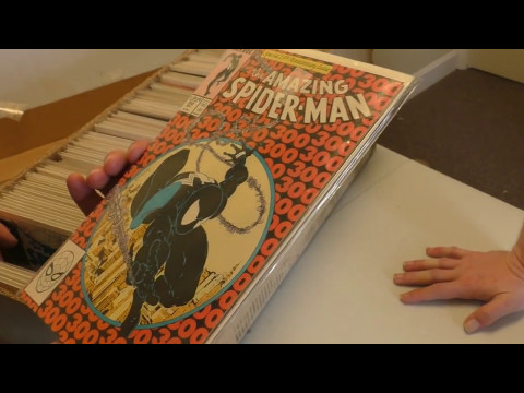 Unboxing $650 Comic Book Collection Part 1   Sell My Comic Books