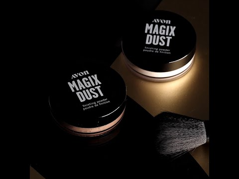 Introducing Magix Dust Finishing Powder | Avon Makeup