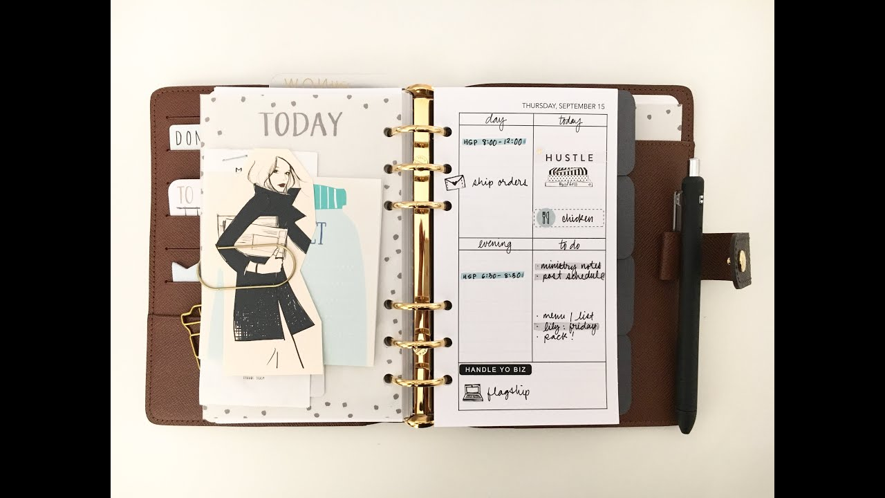 82683725b4f Planner Setup  Louis Vuitton MM Agenda - YouTube