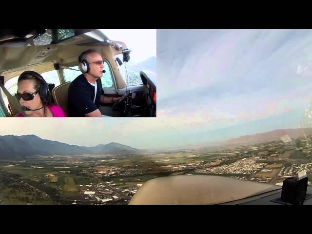 Cessna 172N - Departure from Spanish Fork, UT (U77)