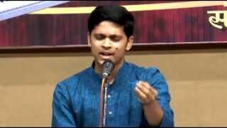Rushikesh Abhyankar sings Ghan Barsat Barsat aale