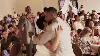Bride and Groom Dance Wavy Folio Video-Ographer- Kansas City Mo