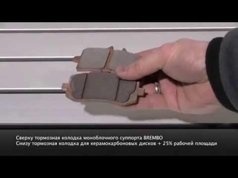 Керамокарбоновые тормозные диски для мотоциклов