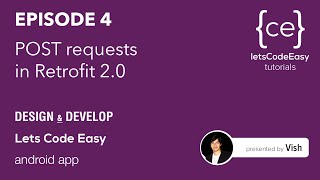 05 How to create POST requests in an Android app using Retrofit 2.0