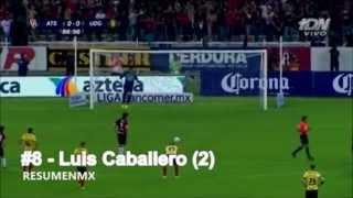 Todos los goles de Atlas APERTURA 2014