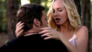 vuclip 5x11 Klaus and Caroline kiss & Klaroline moments - The Vampire Diaries