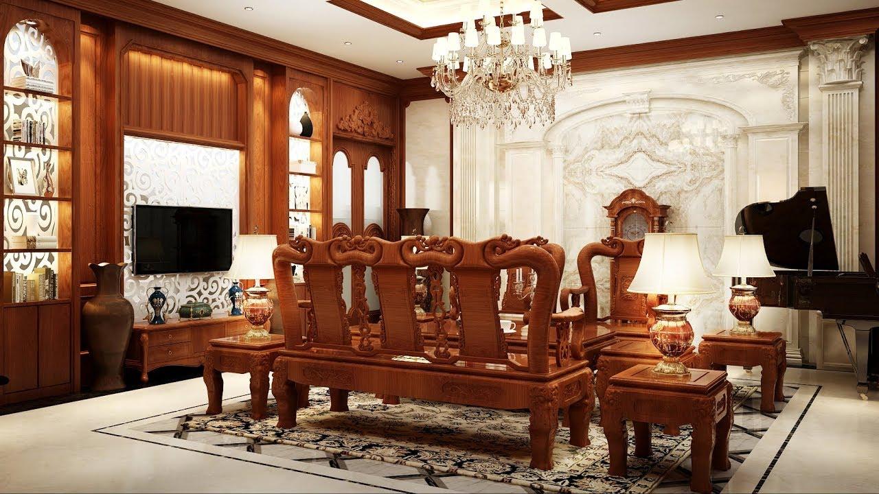 Thiết kế nội thất biệt thự song lập LakeView City phong cách tân cổ điển - YouTube