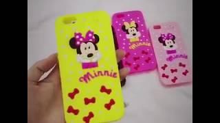 Mayorista de la funda del teléfono móvil de Silincone 3D miky de la fábrica de China