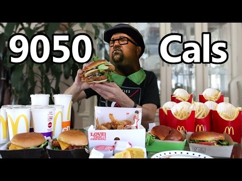 Big Smoke's Order (Food Challenge)