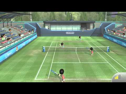 Wii Sports Club - Tennis: Online Game
