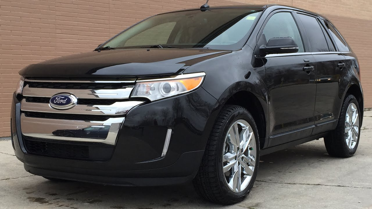 Ford Edge Limited Awd Leather Heated Seats Panoramic Roof Backup Camera Huge Value Youtube