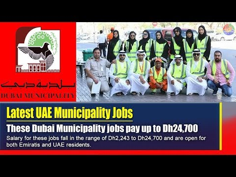 Latest Dubai Municipality jobs pay up to Dh24,700 - World News Collection