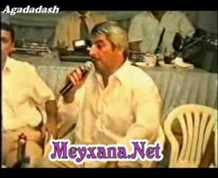 Meshedibaba - Atam yaziq  ( Qezel )