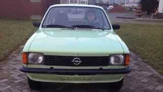 Opel C Kadett test drive Martin Willems