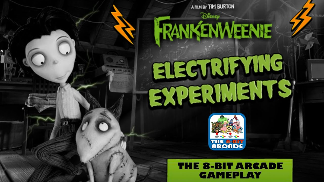 Frankenweenie Electrifying Experiments Help Victor Construct Experiments Disney Games Youtube