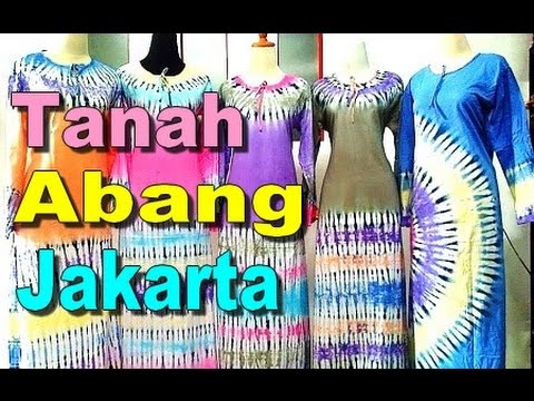 TANAH ABANG Jakarta - Biggest Shopping Mall in South East Asia [HD]