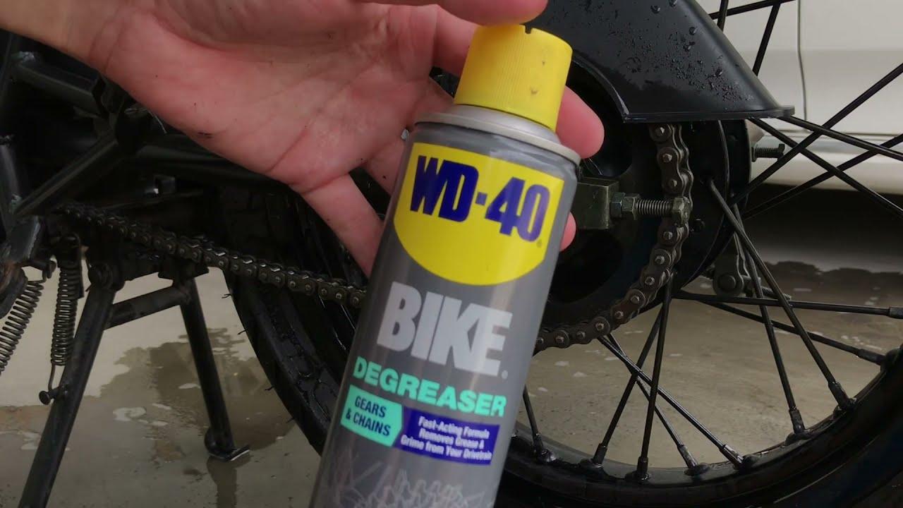 น้ำยาล้างโซ่จักรยาน ล้างโซ่มอเตอร์ไซค์ ได้ไหม!!