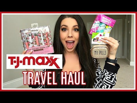 TJ Maxx Haul | Travel Essentials 2019
