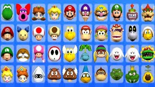 Mario Super Sluggers - All Characters