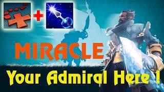 Miracle- Dota 2 : Kunkka Xmark Arrow Combo [Middle] 9000MMR - Trust Inside Your Team !