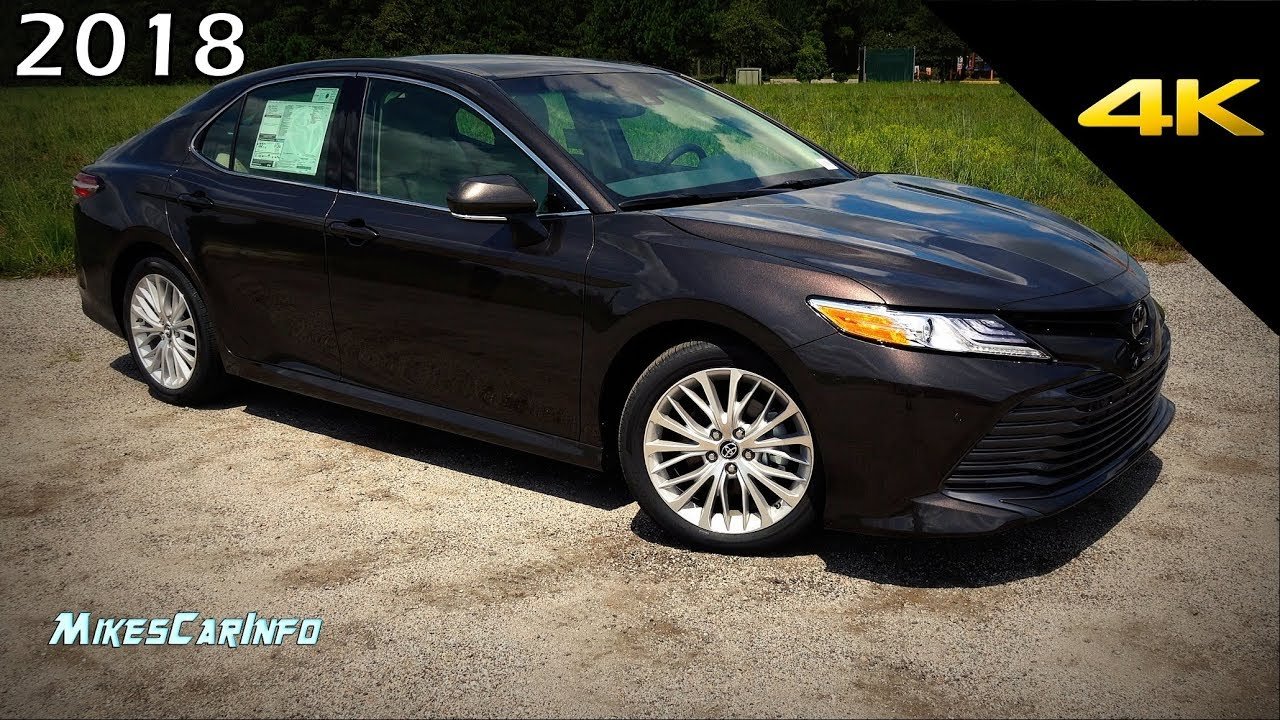2018 Toyota Camry Xle Detailed Look In 4k Youtube