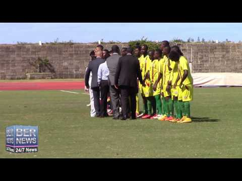 Bermuda vs Grenada Friendly Football Match, March 8 2015