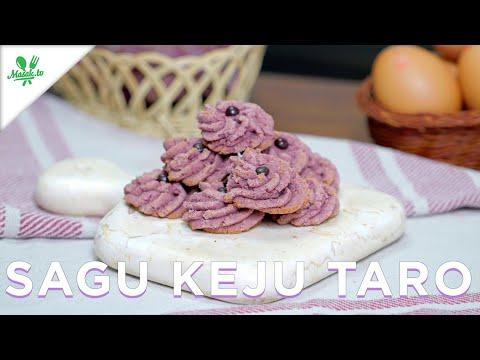 RESEP SAGU KEJU RENYAH RASA TARO   Sagu Keju Taro