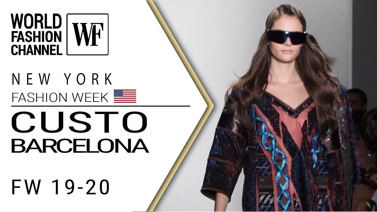 Custo Barcelona Fall Winter 19 20 New York Fashion Week Youtube