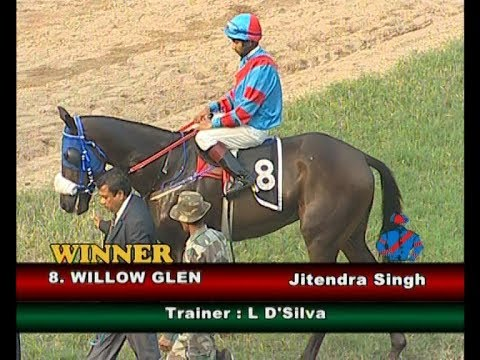 Willow Glen with Jitendra Singh up wins The Malakpet Plate Div-2 2018