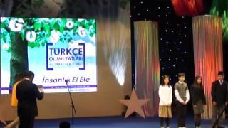 Birinciler 10.Türkçe Olimpiyat Azerbaycan