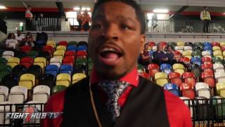 Shawn Porter Has no doubt Spence will be fine with Brook; says Mayweather McGregor historic