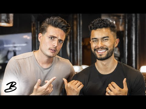 Getting A Haircut With Jose Zuniga | Teaching Mens Fashion Gets Personal!