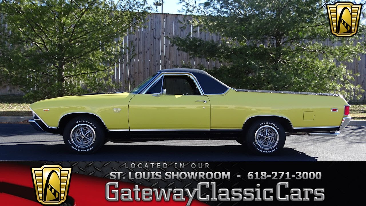 1969 Chevrolet El Camino Ss Stock 7234 Gateway Classic Cars St 1968 Louis Showroom