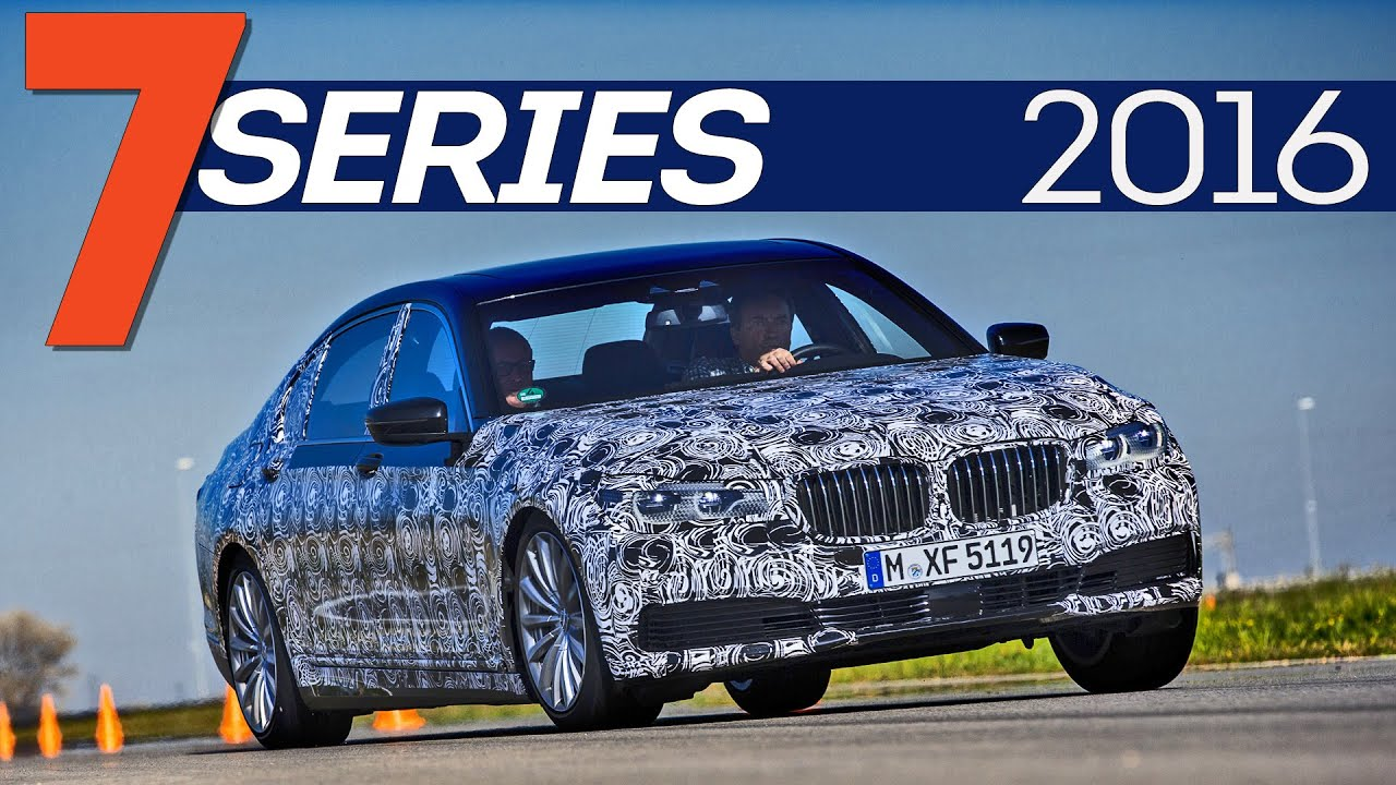 The new 2016 BMW 7 Series coming out soon
