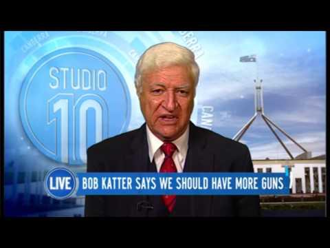 Bob Katter Says We Should Have More Guns | Studio 10
