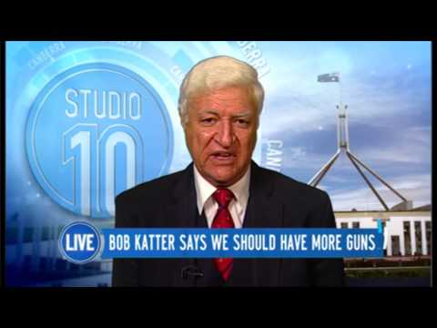 Bob Katter Says We Should Have More Guns | Studio 10