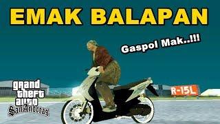 Video AKIBAT EMAK-EMAK IKUT BALAPAN - GTA Lucu Indonesia Dyom download MP3, 3GP, MP4, WEBM, AVI, FLV Desember 2017