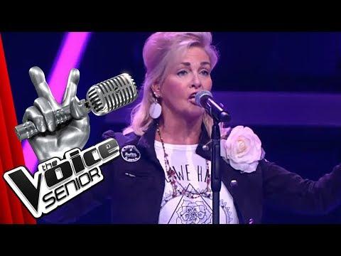 Texas Lightning - No, No, Never (Birgit Rüßmann) | The Voice Senior | Audition | SAT.1 TV